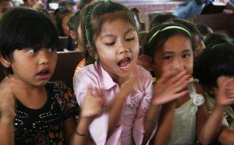Indonézia081 Iskolai énekóra
