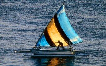 INDONEZIA Amedi halászcsónak
