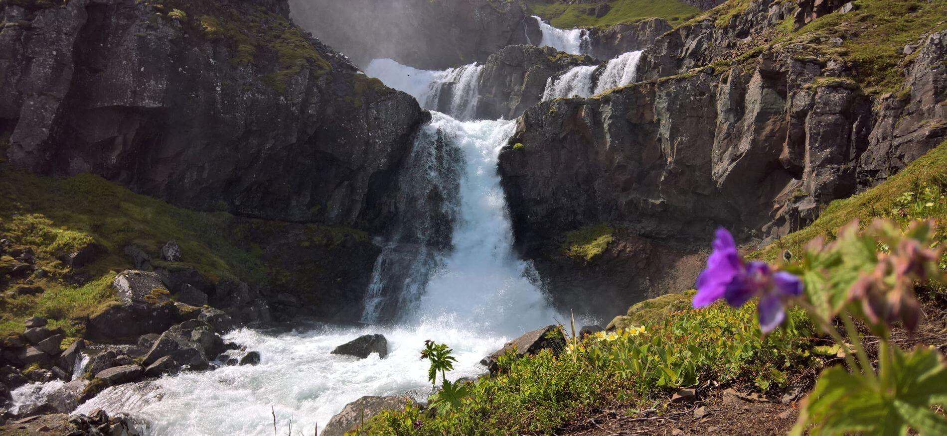 Angkor Tours Izland vízesés
