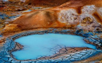 Izland myvatn