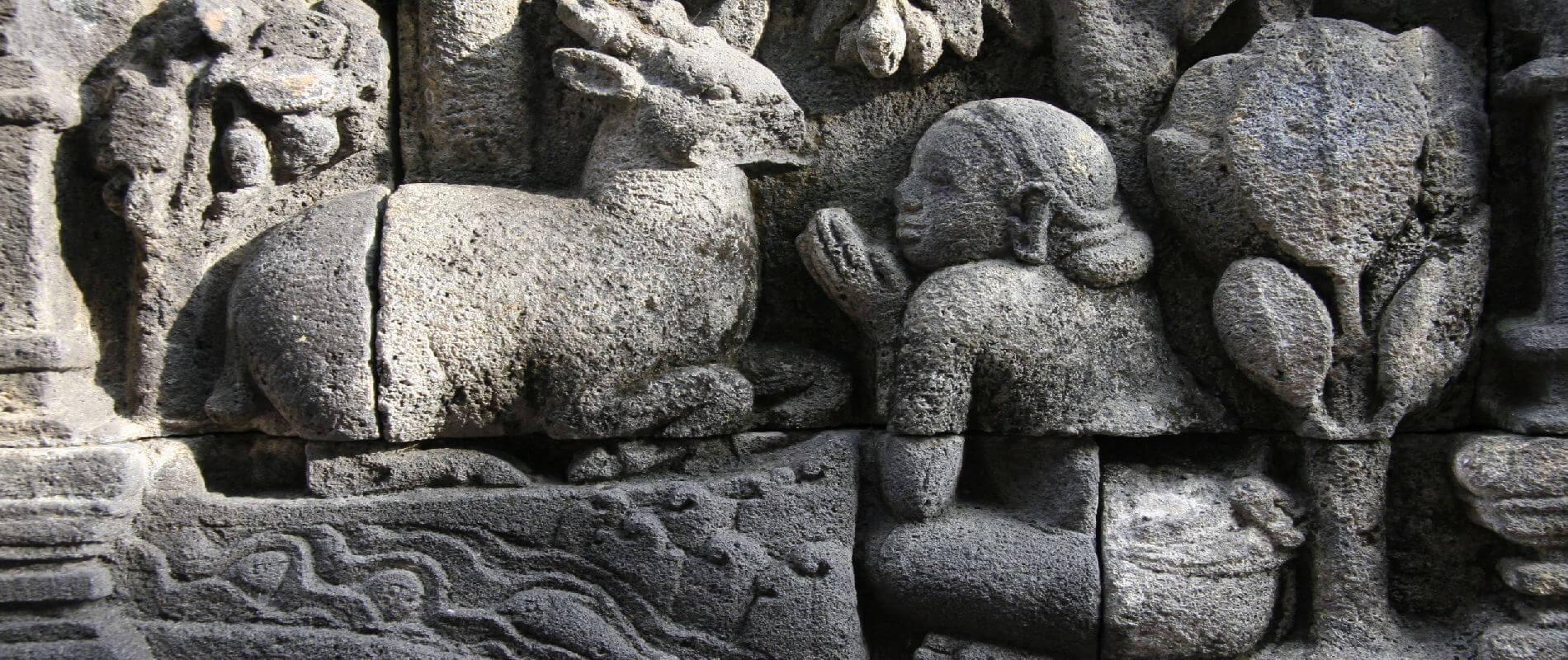 Angkor Tours Indonézia dombormű