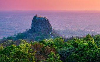 Angkor Tours Burma Popa-hegy