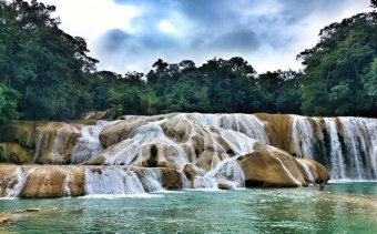 Mexikó Agua Azul Angkor Tours