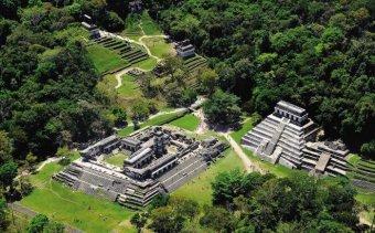 Mexikó Palenque Angkor Tours
