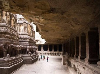 India Angkor Tours Ellora