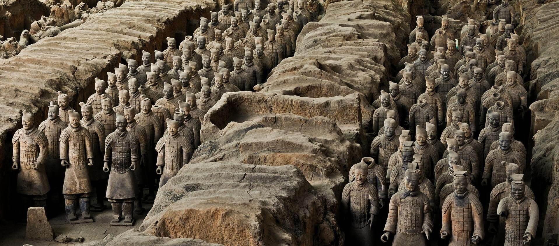 Angkor Tours Kína agyaghadsereg